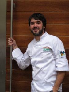 Óscar García. Restaurant Baluarte. Soria. Foto: Marion Trutter